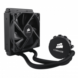 Chłodzenie wodne Corsair H55, Compatible with Intel (LGA115x, LGA1366, LGA 2011) and AMD (AM2, AM3, FMx), 120mm Radiator