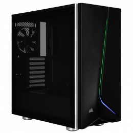 Obudowa Carbide SPEC-06 RGB Tempered Glass Mid-Tower Gaming Case, Black