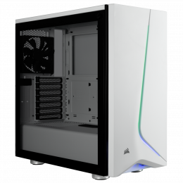 Obudowa Corsair Carbide SPEC-06 RGB Tempered Glass Mid-Tower Gaming Case, White