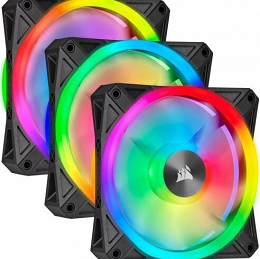 3-Pak Wentylator CORSAIR iCUE QL120 RGB, Triple Fan Kit