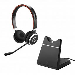 Jabra Evolve 65 UC Stereo incl. Charging stand