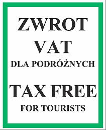 Tax free zwrot VAT dla podróżnych